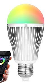 9W Slimme LED-lampen A60 (A19) 20 SMD 5730 900 lm RGB Wit Dual Lichtbron KleurInfrarood Sensor Dimbaar Op afstand bedienbaar WiFi Licht