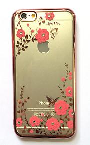 Caso per la mela iphone 7 più il caso di copertura della copertura di caso del rhinestone di copertura della copertura di caso di iphone 7