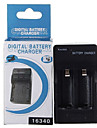 Digital CR123A Battery AC Charger
