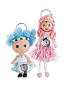 Cute Doll Clock Keychains (Assorted 2-Pack) Cool Watches Unique Watches