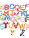 alfabeto 26 letras engracado frigorifico imas de madeira brinquedo educacional (26-pack)