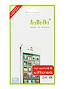 2-in-1 takana ja edessä Screen Protector kanssa puhdistusliina iPhone 4S