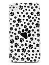 Case Dura ABS para iPhone 4 e 4S (Pegadas de Cachorro)
