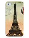 Huelle fuer iPhone 4/4S mit Eiffel Turm Retro Motiv
