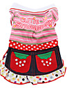 Cutie Strawberry Style Dress for Dogs (XS-XXL, Pink)