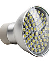 Lampadas de Foco de LED E14 / GU10 4W 180 LM 2800K K Branco Natural 60 SMD 3528 AC 220-240 V MR16