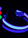 9Protecollar - Adjustable Dual Night Safety LED Light Dog Collar (25-35cm/9.8-13.8inch, Battery included)