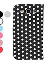 Для Кейс для  Samsung Galaxy со стендом / Флип / С узором Кейс для Чехол Кейс для Геометрический рисунок Искусственная кожа Samsung S3