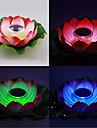 Ночная лампа для бассейна на солнечной энергии в форме цветка лотуса (изменяется цвет подсветки)