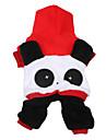 Chien Costume / Pulls a capuche / Tenue Rouge Vetements pour Chien Hiver / Printemps/Automne Animal Mignon / Cosplay