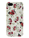 Rose Pattern Soft TPU Case for iPhone 5/5S