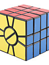 Magic Cube IQ Cube Qiji Alien Smooth Speed Cube Magic Cube puzzle Black PVC