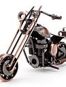 Decoration bureau en metal Moto (style aleatoire)