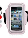 étui de protection avec sangle de bras pour l'iphone 5/5s (couleurs assorties)