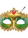 Venetian Crown Top Half Mask for Masquerade Party (Random Color)
