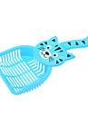 Cat Dog Cleaning Brush Portable Purple Green Blue