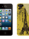 Retro Design Eiffel Tower Pattern Protective Sticker for iPhone 5