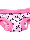 Dog Pants Pink Dog Clothes Spring/Fall Bowknot