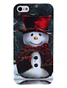 Father Christmas Pattern Hard Case for iPhone 5/5S