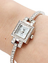 Women's Alloy Analog Quartz Bracelet Watch (Silver) Cool Watches Unique Watches