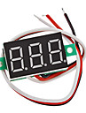 "V20D 0.36"" LED 3-Line 3-Digital Direct-Current Voltmeter Meter Module (White + Green, DC 0~100V)"