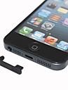 Anti-poussiere Prise ecouteurs Avec Plug de donnees pour l\'iPhone 5