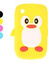 Lovely Penguin Design Soft Case for BlackBerry curve 8520