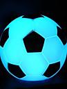 luz da noite em forma de futebol levou (cor aleatória)