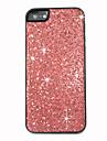 지르콘 빛나는 다시 아이폰 5/5S를위한 덮개