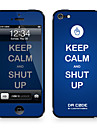 "Da Code ™ Skin for iPhone 4/4S: ""Keep Calm and Shut Up"" by Steven Lin (Creative Series)"