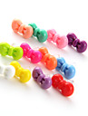Pure Color Bowknot Plastic Anti-Dust Earphone Jack (Ramdon Color)