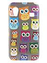 Owl mønster hårdt tilfældet for Samsung Galaxy Ace S5830