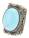 Personnalité de la mode Turquoise Ring Gem