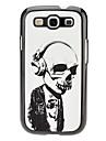 Horrible cas dur de modèle de crâne pour Samsung Galaxy S3 I9300