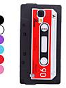 Compact Cassette Design mykt etui for Samsung Galaxy S4 I9500 (assorterte farger)