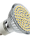 4W GU10 Focos LED MR16 80 SMD 3528 300 lm Blanco Calido AC 100-240 V