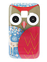 Owl and Deer Padrao Hard Case para Samsung Galaxy Ace Duos S6802