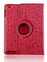 Suloinen Faerie Pattern PU Leather Case for iPad 2/3/4