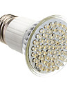 E27 3.5W 60-LED 350-400LM 3000-3500K Warm White LED Light Bulb Pontual (85-265V)