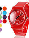 Unisex Silicone Quartz Analog Wrist Watch (Assorted Colors)