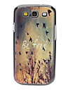 Be Free Pattern Hard Case for Samsung Galaxy S3 I9300