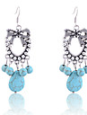 Earring Drop Earrings Jewelry Women Party / Daily Alloy / Gem