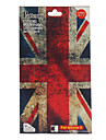 The Union Jack Pattern Skin Guard and Screen Protector with Cleaning Cloth for iPhone 5