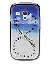 Sky et cas dur de modèle d'oiseau pour Samsung Galaxy S3 mini-I8190