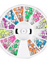 12 цвета Мини заклепки украшения искусства ногтя
