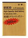 Bateria 2450mAh para Samsung Galaxy Ace S5830