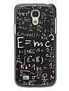 Formula Pattern Aluminum Hard Case for Samsung Galaxy S4 mini I9190