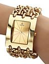 Men\'s Analog Quartz Gold Steel Band Bracelet Watch (Assorted Colors) Cool Watch Unique Watch