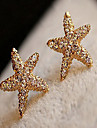 Z&X® Beautiful Starfish Ear-ring