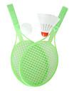 Mini Parent-child Badminton&Tennis 2in1 Racket&Ball Set(Random Color)